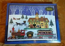 Nite Train Jigsaw Puzzle 550 Piece, From Bits & Pieces New GLOW in the Dark