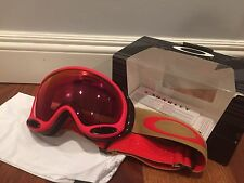 Oakley A-Frame 2.0 Snow Goggle Red Copper / Torch Prizm Lens OO7044-36