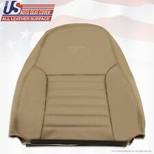 1999 2000 2001 2002 2003 2004 Ford Mustang GT Driver Top Back leather Cover TAN
