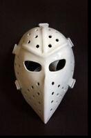 Vintage Fiberglass NHL Ice Hockey Mask Goalie Helmet - White