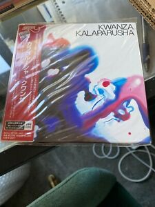 Kwanza Kalaparusha Japanese import limited edition OOP