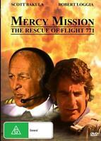 MERCY MISSION THE RESCUE OF FLIGHT 771 - SCOTT BAKULA - DVD - FREE LOCAL POST