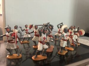 Timpo Knights Crusaders Lot 60's