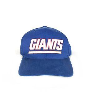 Vintage 90s New York Giants Starter Snapback Hat Cap NFL