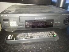 Sony VHS Videorecorder Videorekorder Tri Logic Smart Engine mit FB
