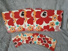 Flower Matching 4 Placemats and 4 Coasters