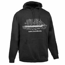 GRUNDEN'S SHIP LOGO HOODED SWEATSHIRT WITH HOOD SIZE LARGE