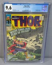 THOR #132 (Ego 1st appearance) CGC 9.6 NM+ White Pages Marvel Comics 1966