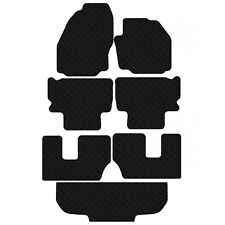 Ford Galaxy 2006 - 2014 Rubber Tailored Full Car & Boot Floor Mat Set