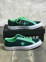 Sneakers Men's Converse One Star Suede Low Top Ponderosa Neptune Green 161614C