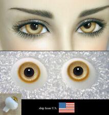 12mm amber color high quality glass bjd doll eyes dollfie iplehouse JS-01 ShipUS