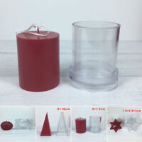 1pc Plastic Candle Mould Making DIY Craft Handmade Wedding Decoration Supplies