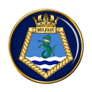 HMS Belfast, Royal Navy Pin Badge