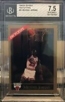 1990-91 Skybox Prototypes #41 Michael Jordan Very Rare SP BGS 7.5 Near Mint+