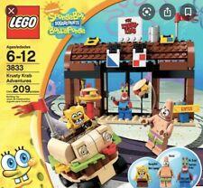 RARE lego SpongeBob SQUAREPANTS set number 3833, The Krusty Krab, 100% Complete