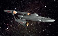 Polar Lights Star Trek USS Enterprise NCC-1701 TV Quality 1:350 Light/Audio Kit