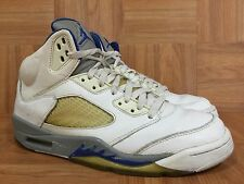 VTG🔥 Nike Air Jordan 5 V Stealth White Sport Royal Sz 8.5 136027-142 3M SICK 06