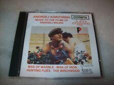 CD - MUSIC TO THE FILMS OF ANDRZEJ WAJDA - ANDRZEJ KORZYNSKI - OLYMPIA - 1993