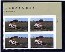 US  4473  Winslow Homer 44c - Plate Block of 4 - MNH - 2010 - S11111  UR