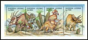 Sierra Leone 1995 MNH SS, prehistoric Animals, Dinosaurs