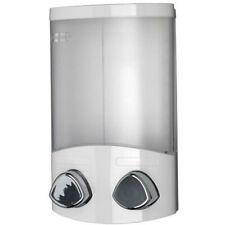 Double Soap Dispenser Shampoo Shower Gel Conditioner Bathroom Pump Croydex Euro