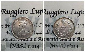 Canada Giorgio V 5 Cents 1918  (silver) km 22 vf
