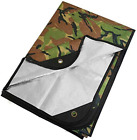 """Arcturus Heavy Duty Survival Blanket - Insulated Thermal Reflective Tarp - 60"""" x"""