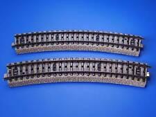 MARKLIN H0 - 5206 - 2x CURVE RAILS R2 5/6 - M Track // EXC