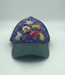 Toddler Kids Mickey Mouse Hat Adjustable Size