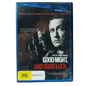 Good Night, And Good Luck. (DVD, Region 4, 2005)