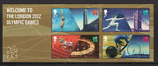 GB stamps - 2012 Welcome to London 2012 Olympic Games Minisheet, MS3341, MNH