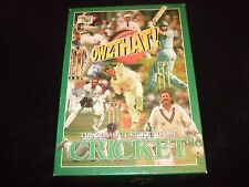 OWZTHAT CRICKET-THE CLASSIC CRICKET GAME BY THE GAMES TEAM