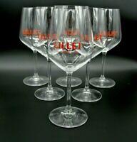 6  Lillet Aperetiv Gläser Weinglas Gastro Bar Deko NEU