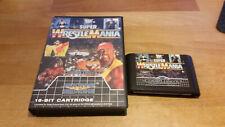 Super Wrestlemania Sega Mega Drive Genesis MD OVP