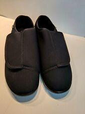 Propet Men's Cush N Foot Slipper Black Neoprene Comfort Shoe Mens Size 14 M0202