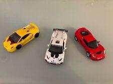 Diecast Cars Mixed Lot of 3 1:32 and 1:38 and 1:36 Lamborgini Huricane,Lotus
