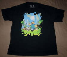 MINECRAFT Boy Girl Character SHIRT Sz Youth Large 10/12/14