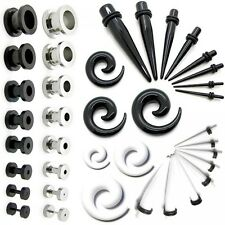 Set tunnel taper set dilatatore spirale 2 3 4 5 6 8 10 mm piercing