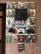 *LOT* Xbox 360 S Model 1439 Console w/ 27+ Games *LOT*