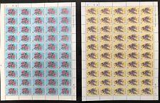 Barbuda #170,171,172 3 Sheets of 50 1974 MNH