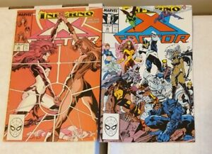 X Factor 38 & 39 (X-Men Inferno)