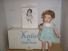 Danbury Mint Katie Porcelain Doll 1991 With Butterfly by Artist Elaine Campbell