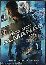 Project Almanac DVD Jonny Weston Brand NEW