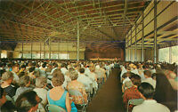 Postcard Music Shed, Tanglewood In The Berkshires