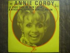 ANNIE CORDY 45 TOURS FRANCE LE CHOU CHOU DE MON COEUR