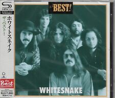 WHITESNAKE THE BEST! JAPAN 2012 REMASTERED SHM HIGH FIDELITY AUDIOPHILE CD - OOP