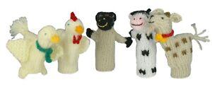 Machu Picchu Stars Handmade Finger Puppets - Set of 5 (Barnyard Buddies)