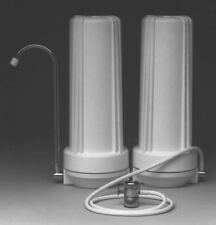 Counter Top Water Filter - 2 Stage Filtration - Sediment & KDF/GAC