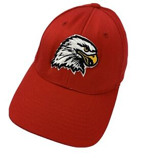 Unknown Eagle Logo Little League? Ball Cap Hat Fitted S/M Baseball Adult