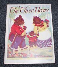 Vintage Book THE THREE BEARS Whitman Publishing